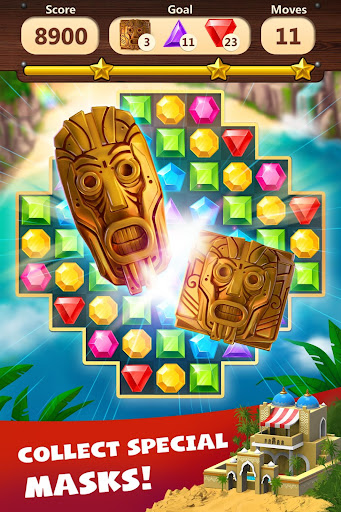 Jewels Planet - Free Match 3 & Puzzle Game 1.2.18 screenshots 5