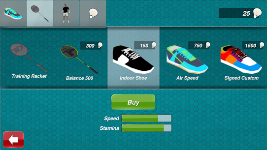 Badminton 3D [Mod, Premium Unlocked] 3
