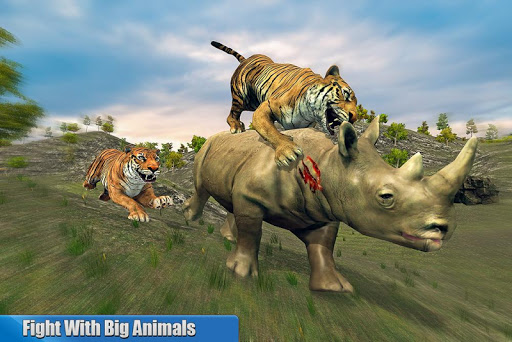 Tiger Family Simulator: Angry Tiger Games apkdebit screenshots 18
