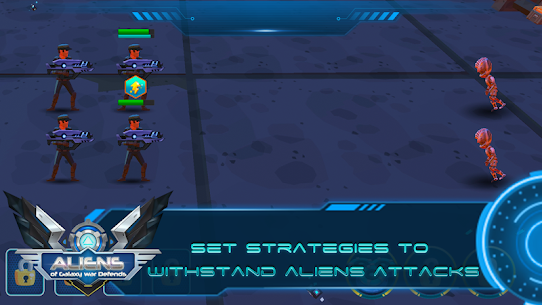 Aliens of Galaxy War Defends Game Hack Android and iOS 2