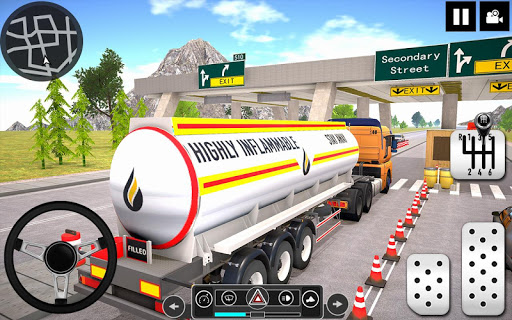 Oil Tanker Truck Driver 3D - Free Truck Games 2020 android2mod screenshots 2