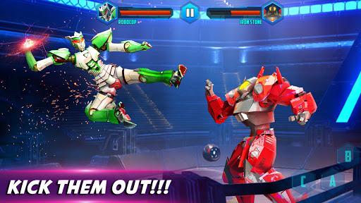 Robot X Street Battle: Beat Em Up Warrior Assassin apkmr screenshots 2