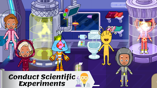 Tizi Town - My Space Adventure Games for Kids 1.1 Screenshots 5