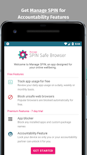 SPIN Safe Browser: Best Filtered Website Browser