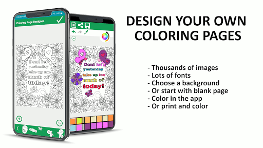 Foto do Coloring page maker - create your coloring pages