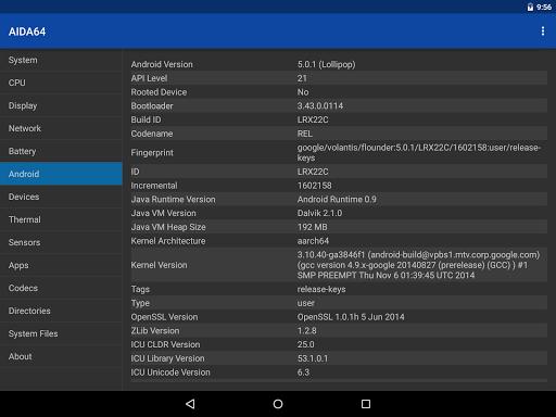 AIDA64 android2mod screenshots 21