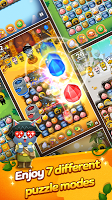 Friends Gem Treasure Squad! : Match 3 Free Puzzle