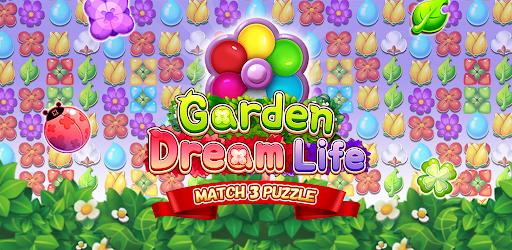 Garden Dream Life: Flower Match 3 Puzzle Apkfinish screenshots 7