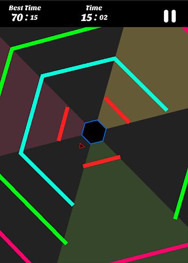 Hexagon - super hexagon, polygon 1.12 screenshots 6