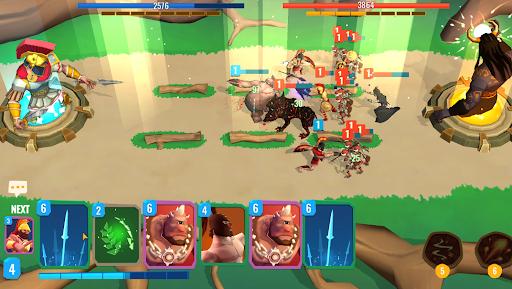 Trojan War 2: Clash Cards Game  screenshots 1