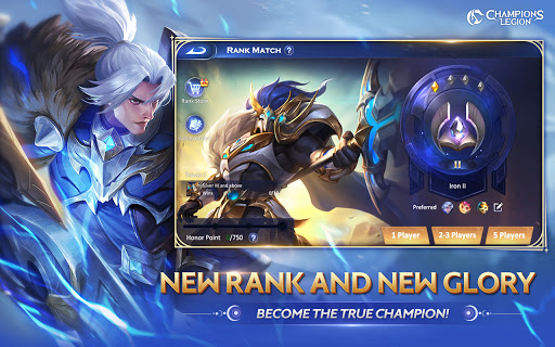 CL:Champions Legion | 5v5 MOBA 1.22.0 screenshots 1