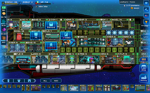 Pixel Starshipsu2122 0.980.1 screenshots 13