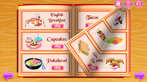 Cooking in the Kitchen - Baking games for girls 1.1.72 Screenshots 3
