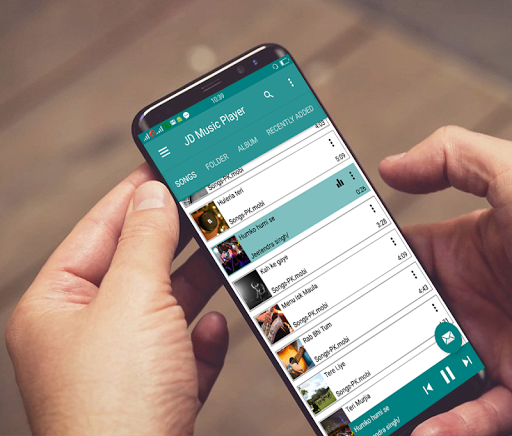 JD Music Player- Folder Music Player, Video Player modavailable screenshots 3