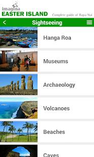 Imagina Easter Island