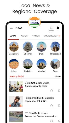 India News, Latest News App, Live News Headlines  screenshots 3