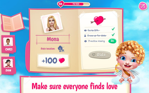First Love Kiss - Cupidu2019s Romance Mission 1.1.6 screenshots 13