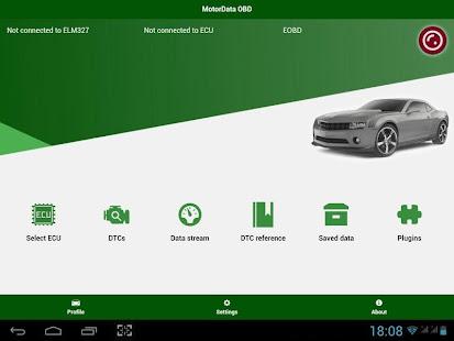 MotorData OBD Car Diagnostics. ELM OBD2 scanner 1.23.08.944 Screenshots 9
