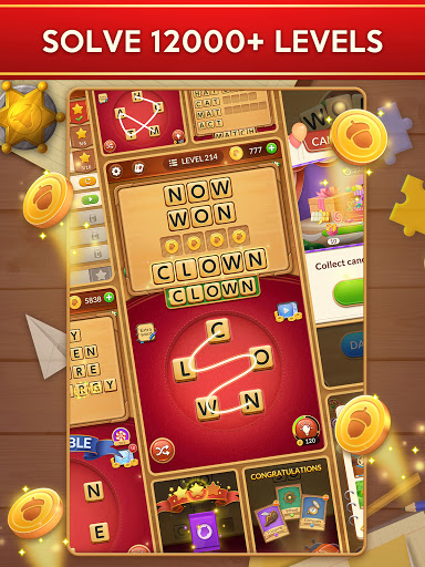 Word Card: Fun Collect Game apkpoly screenshots 13