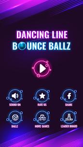 Dancing Line Bounce Ballz MOD APK 1.2 (Unlimited Money) 1