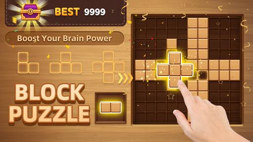 Wood Block Puzzle - New Block Puzzle Blast Game  screenshots 8
