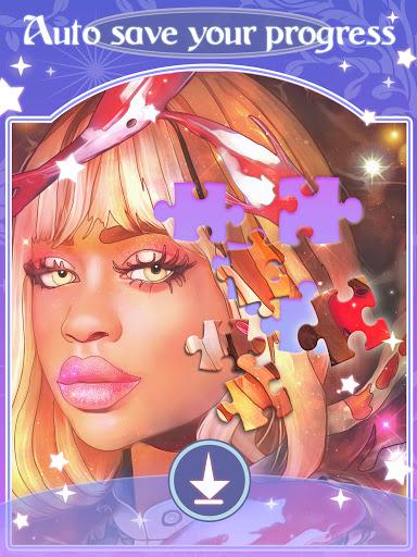 Happy jigsaw puzzles - calm & relax Apkfinish screenshots 15