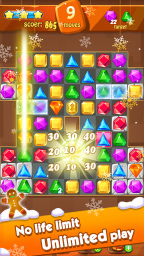 Jewels Classic - Jewel Crush Legend 3.1.0 screenshots 9