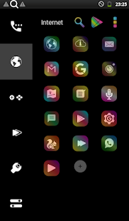 Color Glass THEME & ICONPACK Screenshot