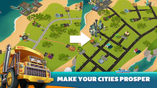 Transit King Tycoon Mod Android 2