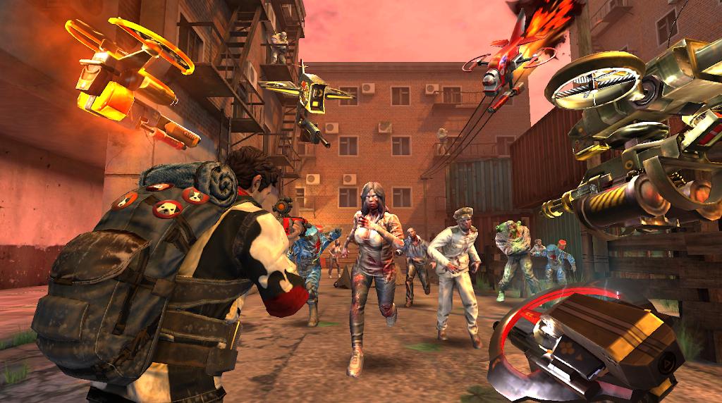 ZOMBIE HUNTER: Offline Games  poster 12