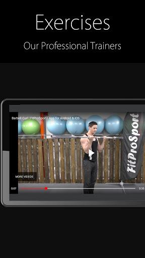 Fitness Trainer FitProSport 4.86 FREE Screenshots 4