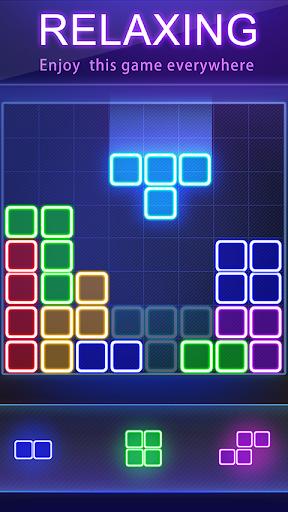 Glow Block Puzzle apktram screenshots 9