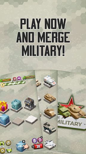 Merge Military Vehicles Tycoon 1.1.4 screenshots 5