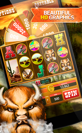 buffalo slot machine free screenshot 1