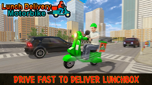 Moto Bike Pizza Delivery Games 2021: Food Cooking 1.12 screenshots 4