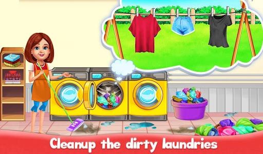 Big Home Cleanup and Wash : House Cleaning Game apkpoly screenshots 3
