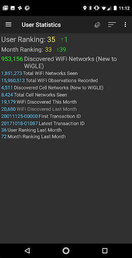 WiGLE WiFi Wardriving apktram screenshots 8