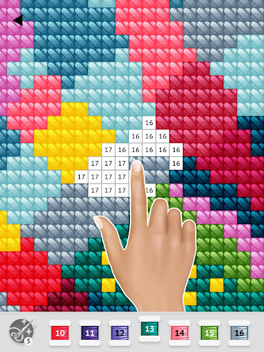Cross Stitch Club u2014 Color by Numbers with a Hoop 1.4.32 screenshots 13
