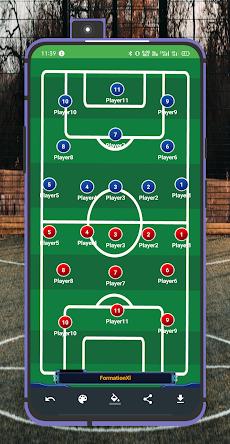 Lineup11: Football Tactics Boardのおすすめ画像5