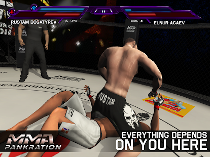 MMA Pankration Screenshot