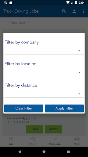 truck driving jobs screenshot 3