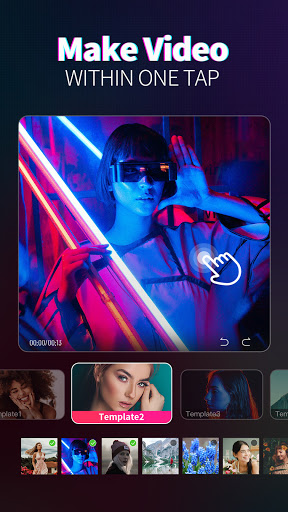 Magic Video Maker - Video Editor with music android2mod screenshots 4
