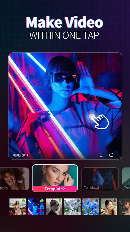 Magic Video Maker - Video Editor with music  poster 1