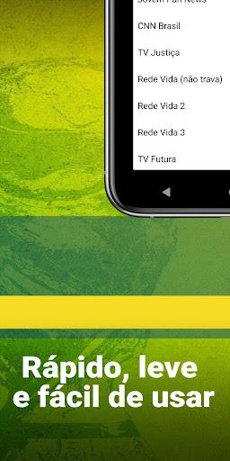 App TV ao vivo - player de TV aberta ao vivo apktram screenshots 4