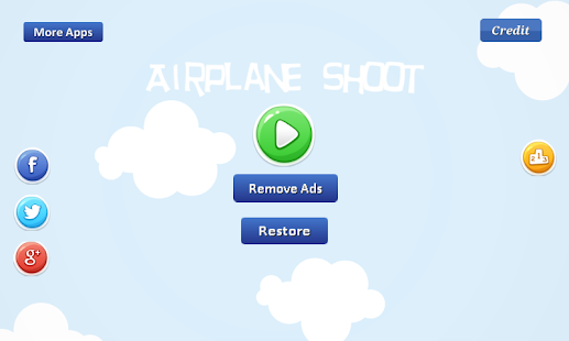 Airplane Shoot - many possible Screenshot
