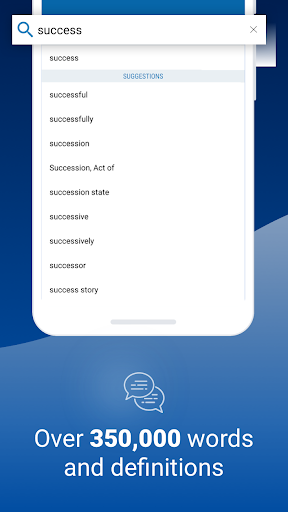 Oxford Dictionary of English screen 1