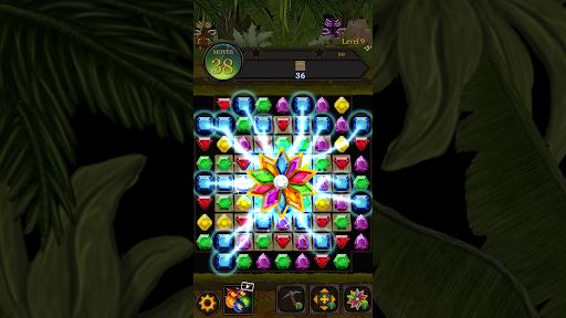 Secret Jungle Pop : Match 3 Jewels Puzzle 1.5.1 screenshots 7