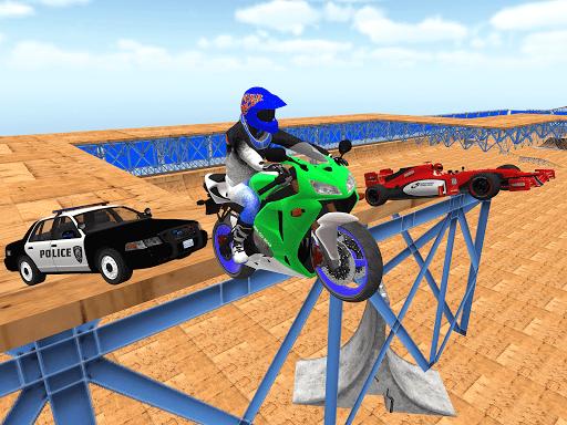 motorcycle infinity driving simulation extreme screenshot 3