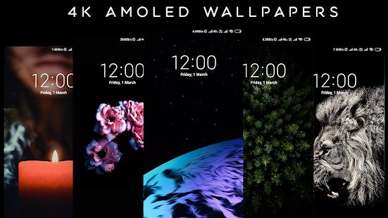 4K AMOLED Wallpapers - Live Wallpaper Changer screenshots 12