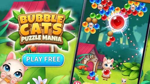 Bubble Cats Shooter POP : Puzzle Mania  screenshots 1